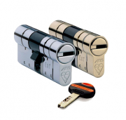 ABS Euro Profile Double Cylinder (key operable inside & outside)