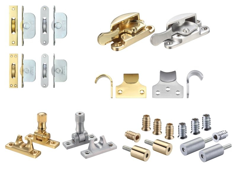 F and B Sliding Sash Hardware