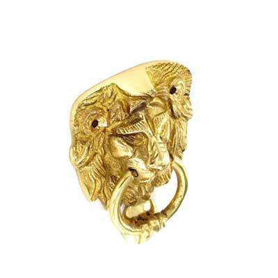 Lion Head Door Knocker - John Pickard Hardware Ltd