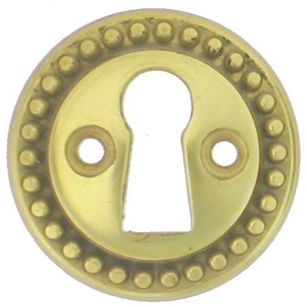 Beaded Escutcheon