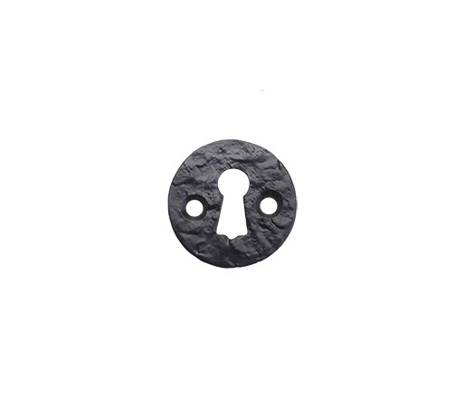 Antique Black Round Escutcheon