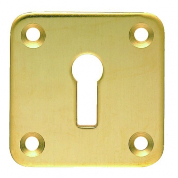 Square Open Escutcheon