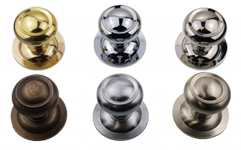 Large Round Centre Door Knob