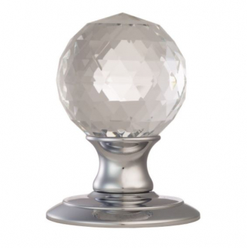 Faceted Mortice Knob